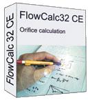 Orifice plate calculator box